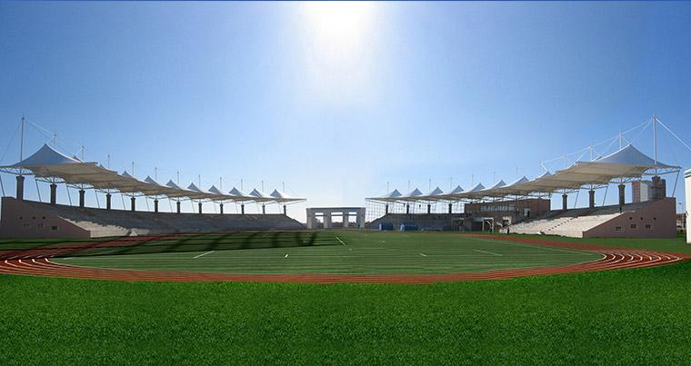辽宁工程技术大学葫芦岛校区体育场
